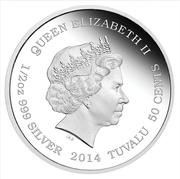 50 Cents - Elizabeth II (Asian Elephant) – obverse