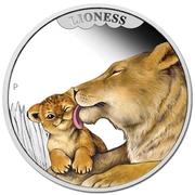 50 Cents - Elizabeth II (Lioness) – reverse