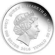 50 Cents - Elizabeth II (Tiger) – obverse