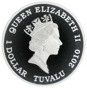 1 Dollar - Elizabeth II (The Sleeping Beauty) -  obverse