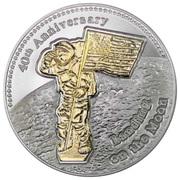 50 Cents - Elizabeth II (Moonlanding) – reverse