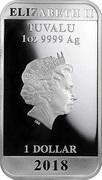1 Dollar - Elizabeth II (Maneki Neko) -  obverse