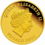 30 Dollars - Elizabeth II (Year of the Ox: Longevity) -  obverse