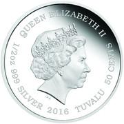 50 Cents - Elizabeth II (White Lion Cubs) – obverse