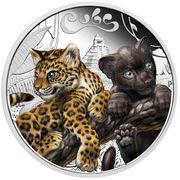 50 Cents - Elizabeth II (Jaguar Cubs) – reverse