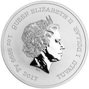1 Dollar - Elizabeth II (Spiderman) -  obverse