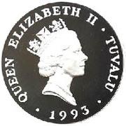 20 Dollars - Elizabeth II (Coronation Jubilee) -  obverse