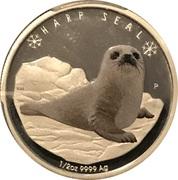50 Cents - Elizabeth II (Harp Seal) – reverse