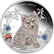 50 Cents - Elizabeth II (Grey Wolf) – reverse