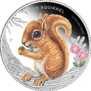 50 Cents - Elizabeth II (Red Squirrel) – reverse