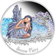 50 Cents - Elizabeth II (Snow Fairy) – reverse