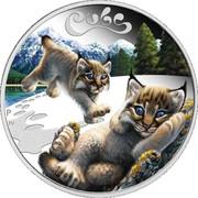 50 Cents - Elizabeth II (Lynx Cubs) – reverse