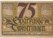 75 Pfennig (Sparkasse) – obverse