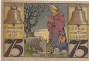 75 Pfennig (Sparkasse) – reverse