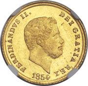 3 Ducati - Ferdinando II -  obverse