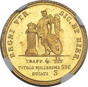 3 Ducati - Ferdinando II -  reverse