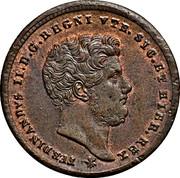 2 Tornesi - Ferdinando II – obverse