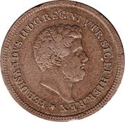 3 Tornesi - Ferdinando II – obverse