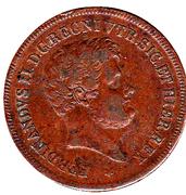 5 Tornesi - Ferdinando II – obverse