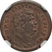 ½ Tornese - Ferdinando II – obverse