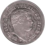 5 Grana -  Ferdinando II – obverse