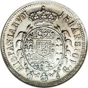 10 Grana - Ferdinando I – reverse
