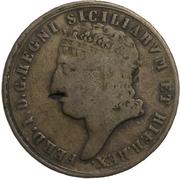 5 Tornesi - Ferdinando I – obverse