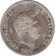 10 Grana - Ferdinando II – obverse