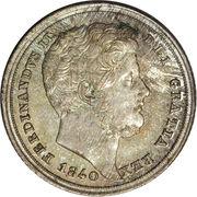 20 Grana - Ferdinando II – obverse