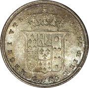 20 Grana - Ferdinando II – reverse