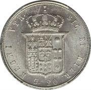 20 Grana - Francesco II – reverse