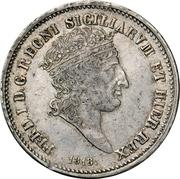 60 Grana - Ferdinando I – obverse