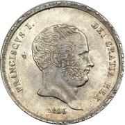 60 Grana, ½ Piastre - Francesco I – obverse