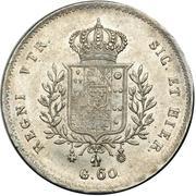60 Grana, ½ Piastre - Francesco I – reverse