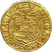 1 Ducat - Archduke Maximilian III (Hall) – reverse