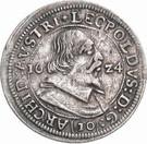 10 Kreuzer - Leopold V – obverse