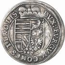 10 Kreuzer - Leopold V – reverse
