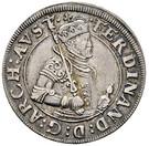 ¼ Thaler - Ferdinand II of Tyrol – obverse