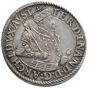 ¼ Thaler - Ferdinand II of Tyrol -  obverse