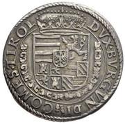 ¼ Thaler - Ferdinand II of Tyrol -  reverse