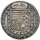 ½ Thaler - Ferdinand II of Tyrol – reverse