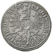 1 Thaler - Ferdinand I posthumous - Archduke Ferdinand II (Hall) – reverse