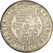 1 Thaler - Leopold V (posthumous) – reverse