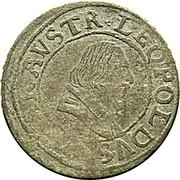 3 Kreuzer - Leopold V Governor (1619-1625) – obverse