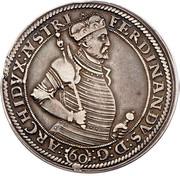 1 Guldenthaler - Ferdinand II of Tyrol (Mülhau) – obverse