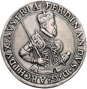 2 Thaler - Ferdinand II of Tyrol (posthumous) – obverse