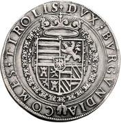 2 Thaler - Ferdinand II of Tyrol (posthumous) – reverse