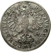 2 Thaler - Ferdinand II of Tyrol (posthumous; Hall) – reverse