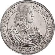 1 Thaler - Sigismund Franz – obverse