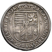 1 Thaler - Maximilian III (Hall) – reverse